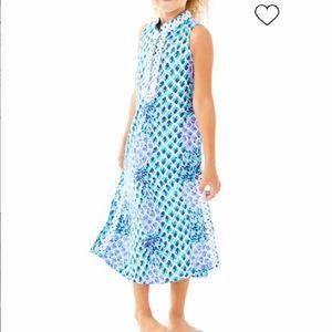 Lilly Pulitzer Mini Jane Maxi Dress Sleeveless 12